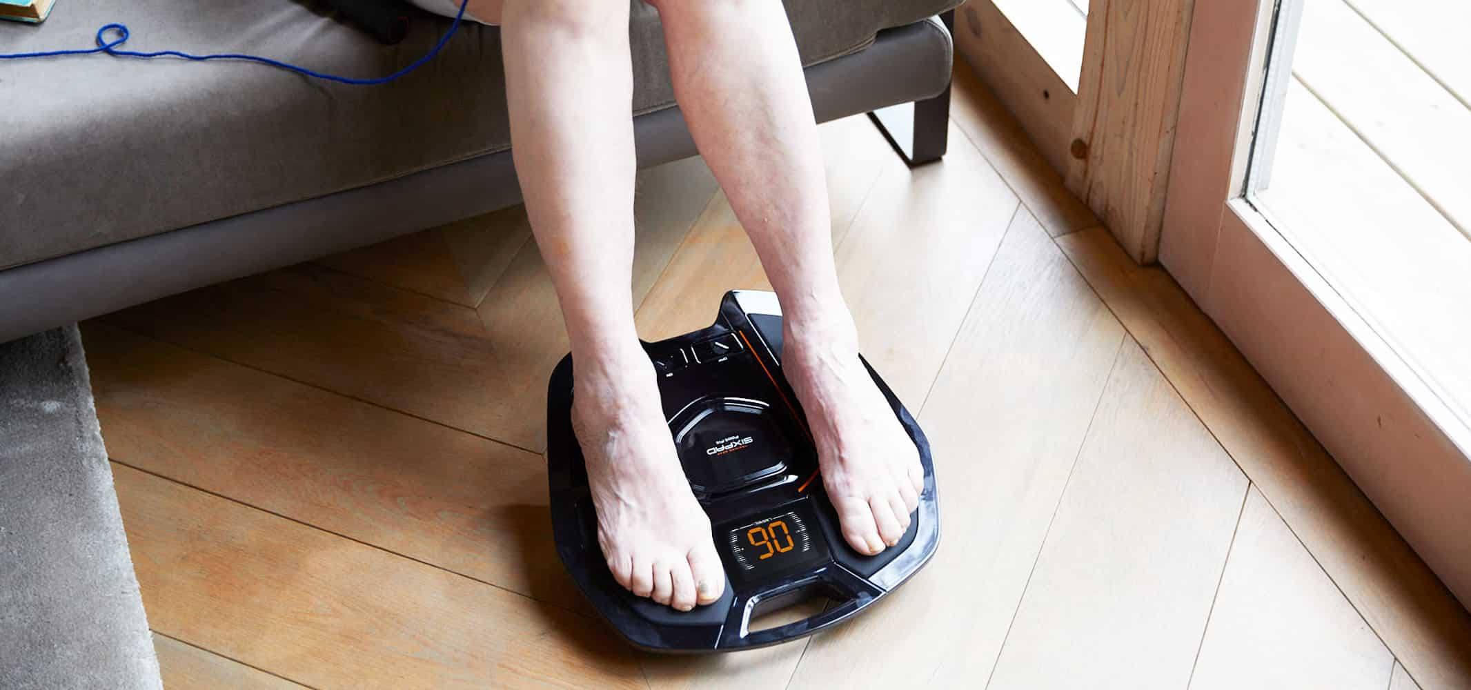 ふくらはぎから足裏、歩行を支える筋肉にアプローチするSIXPAD Foot Fit(フットフィット)