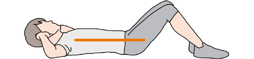 方法 の 逆 腹筋